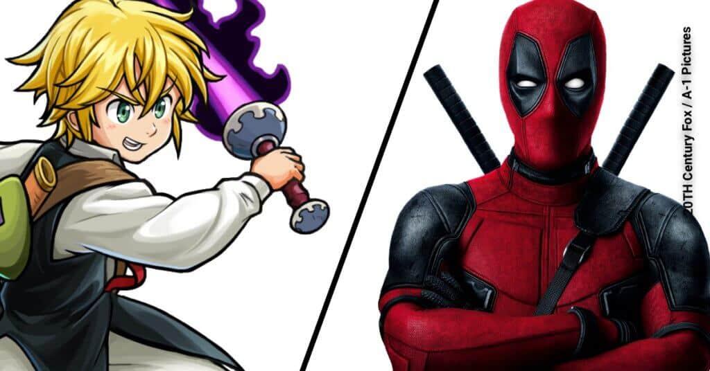 Deadpool vs Meliodas