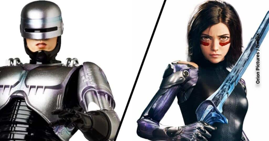 Alita vs Robocop