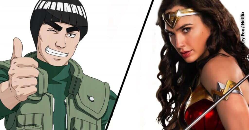 Wonder Woman vs Might Guy