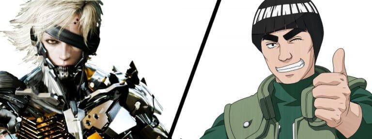 Might Guy vs Raiden