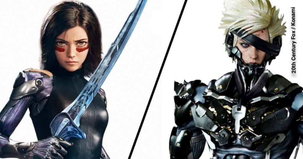 Alita vs Raiden