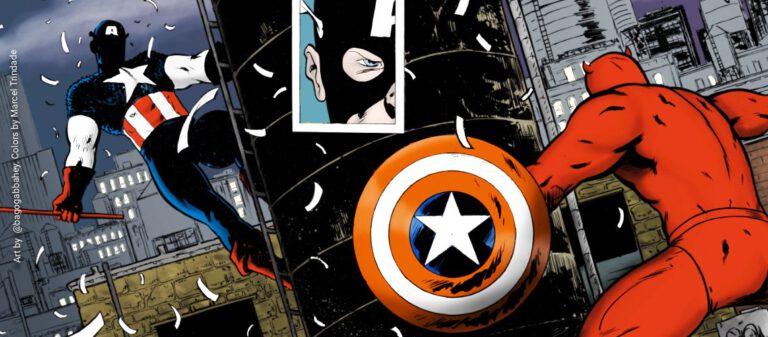 evil avengers captain america vs red captain america