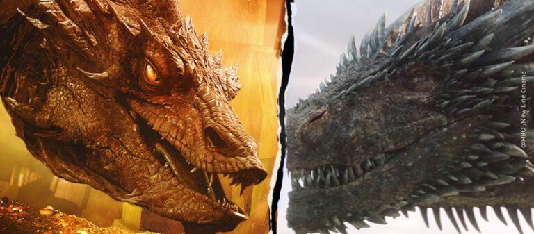 Smaug vs Drogon