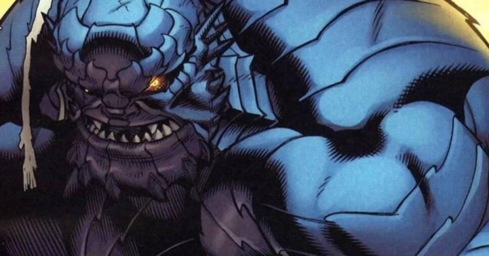 A-Bomb, Marvel Comics, #4 Blue Superhero
