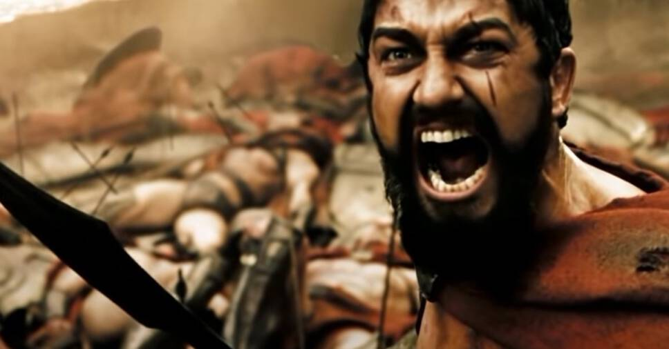 The top 30 Sword Fighting Legends in Movies and TV Shows,  Leonidas, 3000