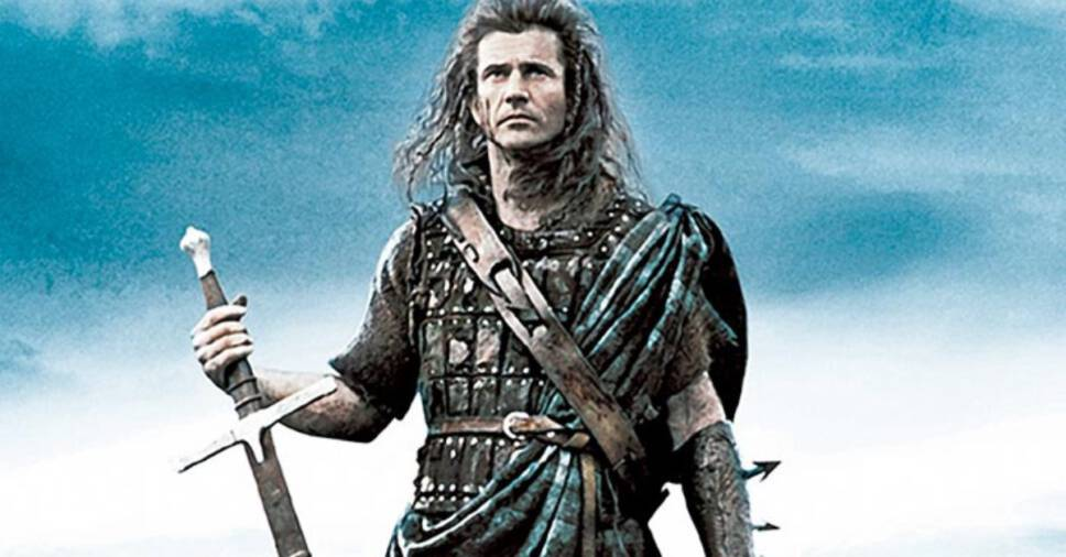 The top 30 Sword Fighting Legends in Movies and TV Shows, William Wallace Braveheart