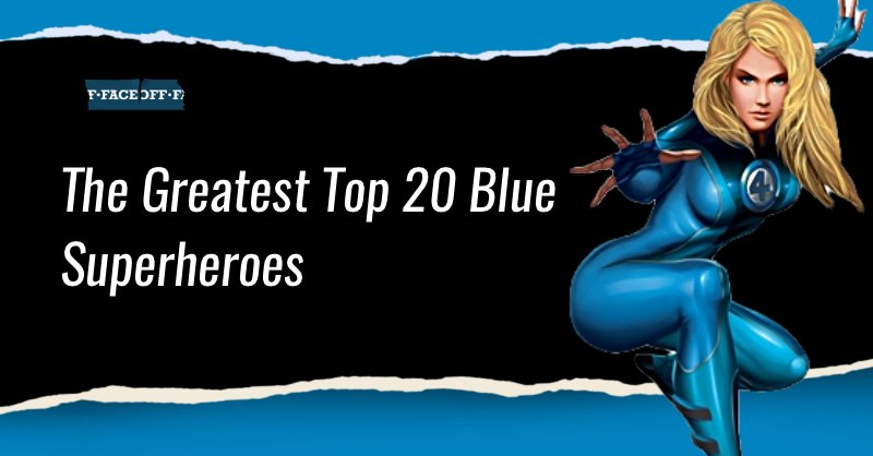 blue superheroes