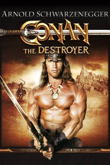 Gladiator movies and TV Shows: conan the destroyer