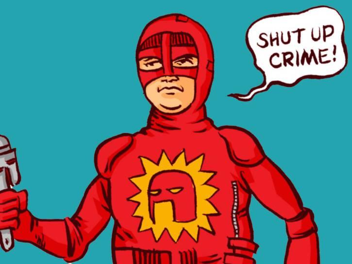 Red Superheroes