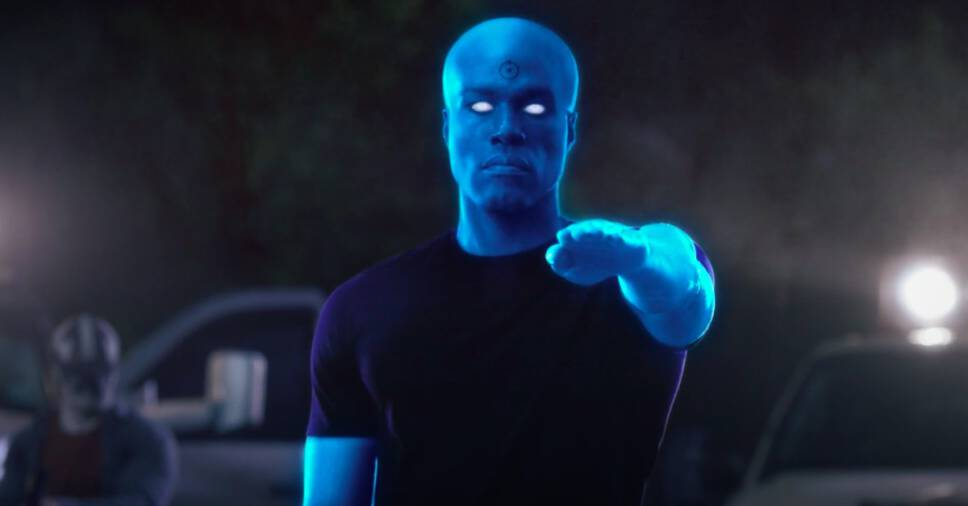 Dr. Manhattan, #1 Blue Superhero
