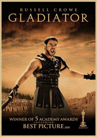 Gladiator movies and TV Shows