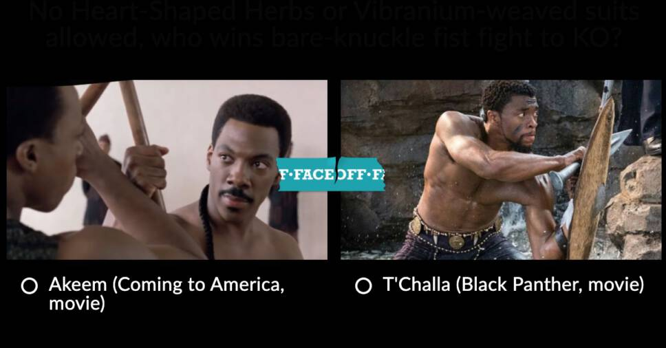 Black Panther vs Coming To America