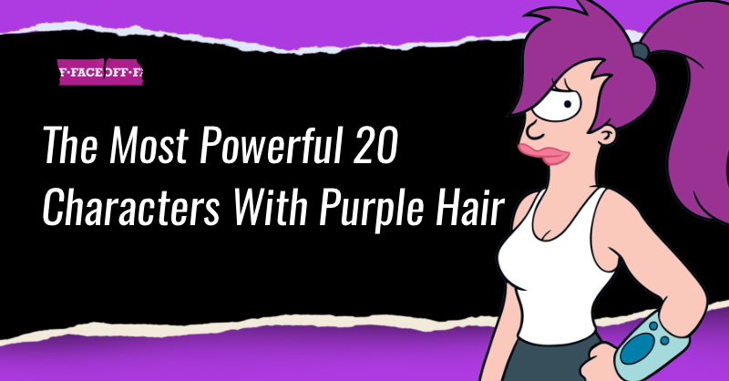 Characters With Purple Hair