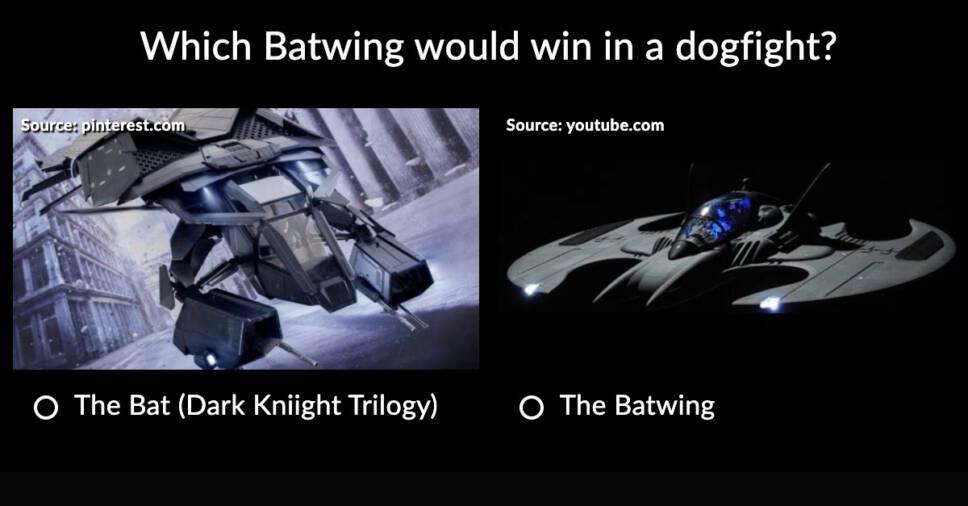 Batman vs Batman
