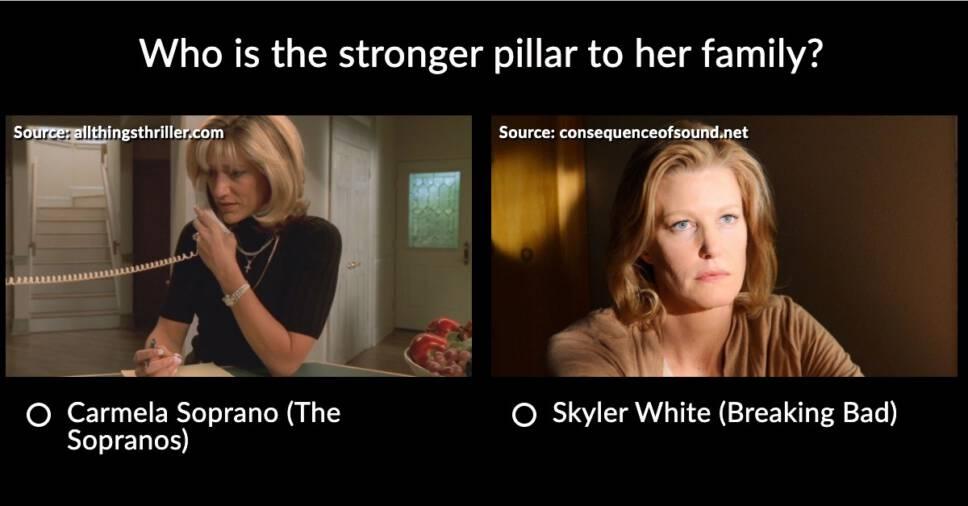 Breaking Bad vs Sopranos