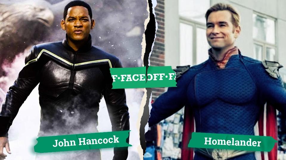 Homelander vs Hancock