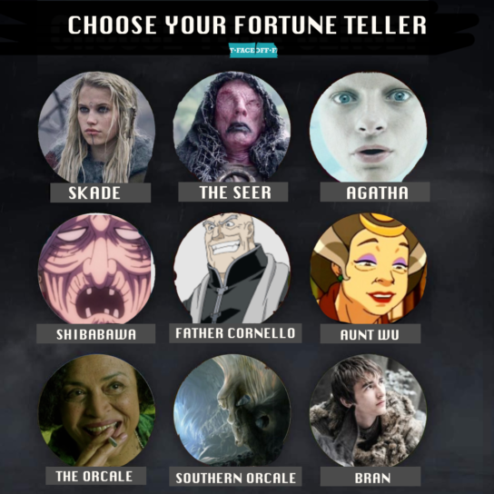 fortune teller movies and tv shows