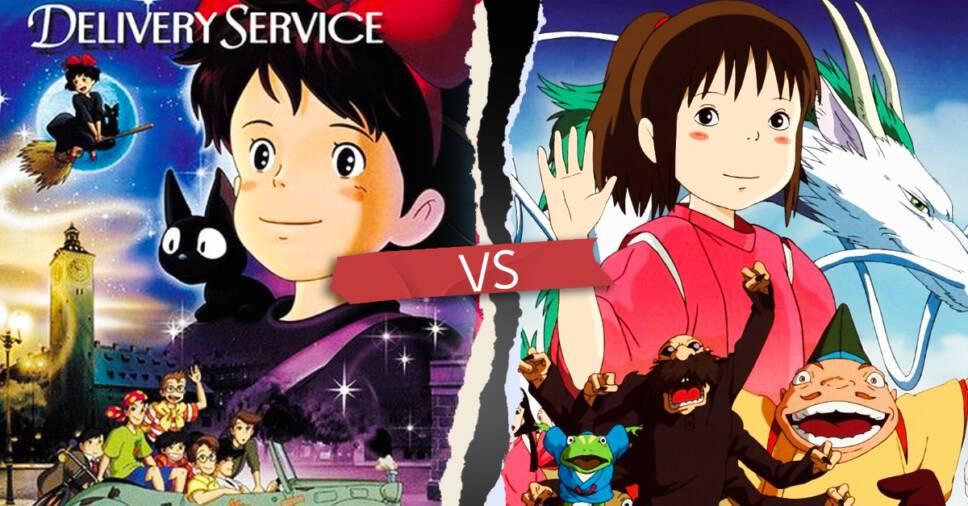 Kiki's Delivery Service vs Spirited Away