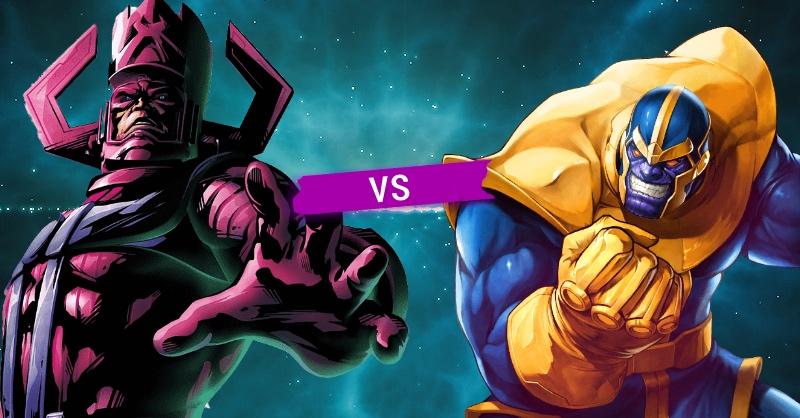 Galactus vs Thanos