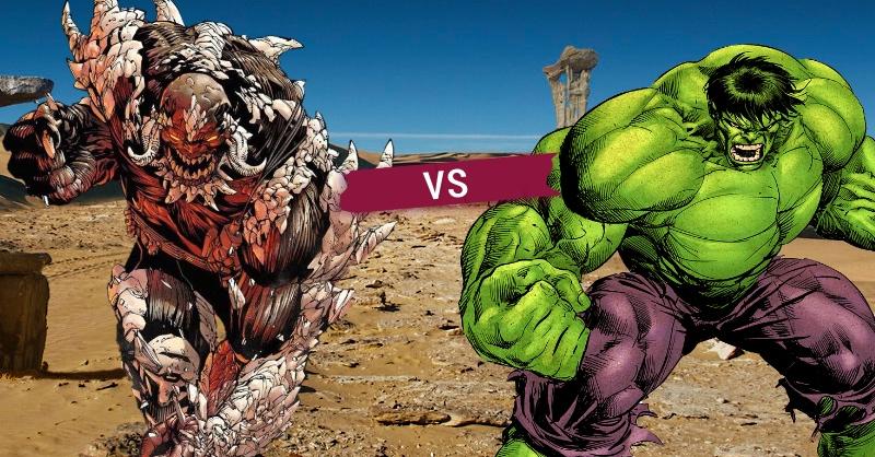 Doomsday vs Hulk