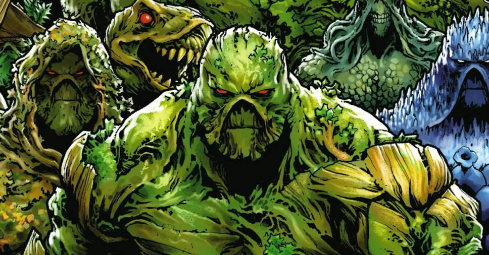 green superheroes