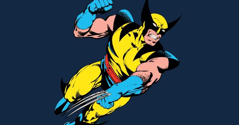 blue and yellow superhero